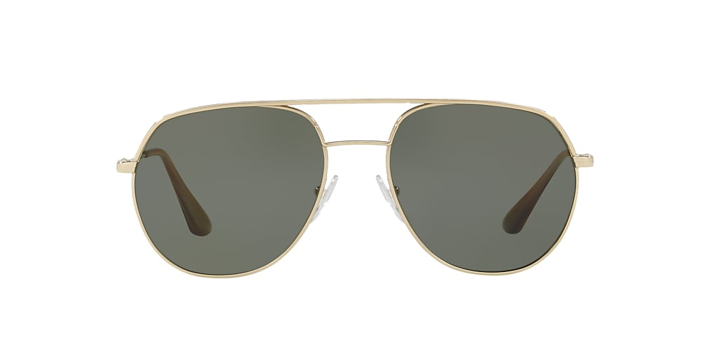 Gold PR 55US Polarized Green Classic  57
