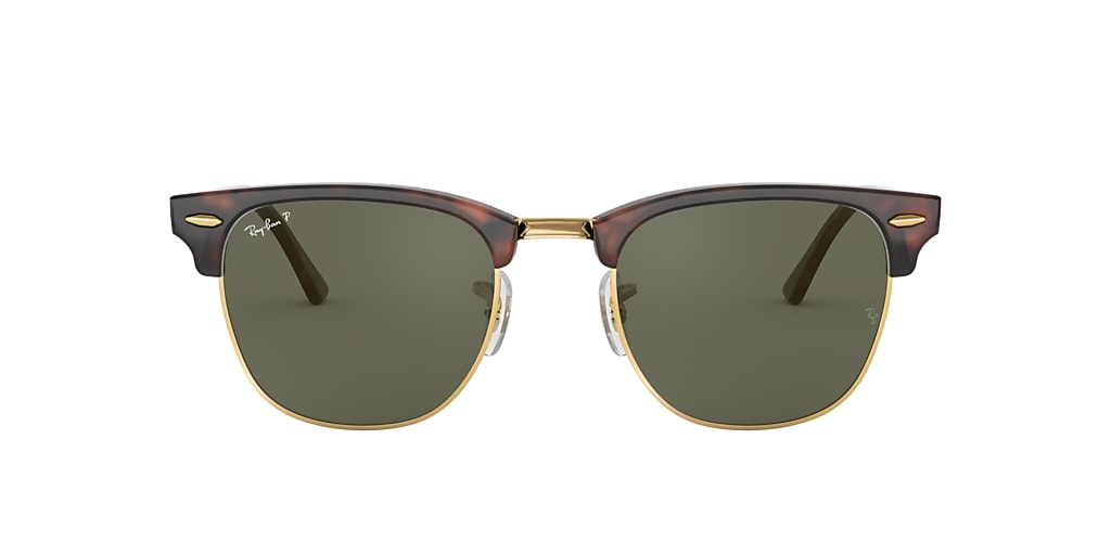 Tortoise RB3016F CLUBMASTER CLASSIC Green  55