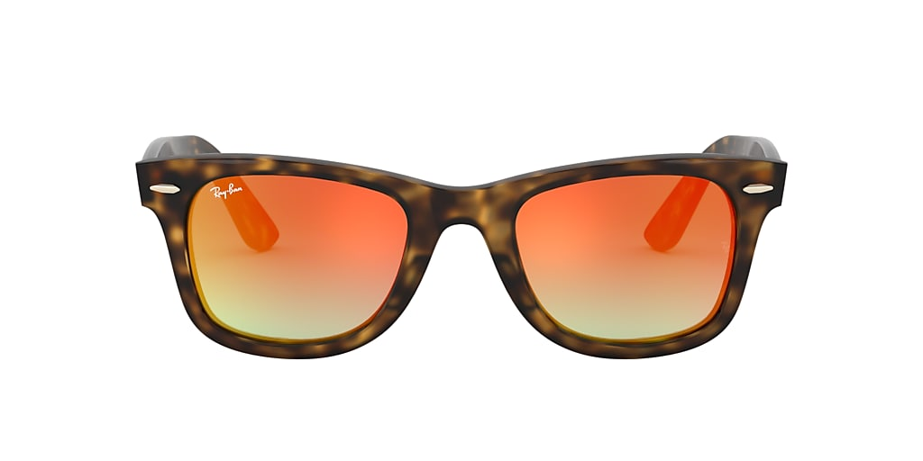 Tortoise RB4340 WAYFARER EASE Orange  50