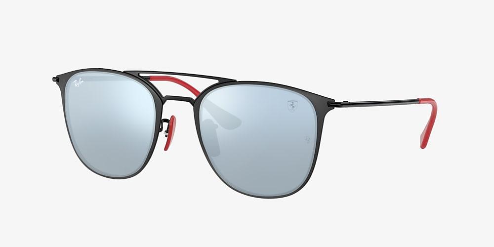Ray Ban Rb3601m Scuderia Ferrari Collection 52 Silver Flash Black Sunglasses Sunglass Hut Usa