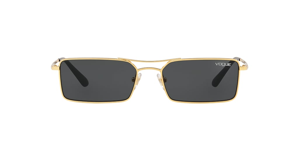 Or VO4106S Gigi Hadid x Vogue Eyewear Gris-Noir  55