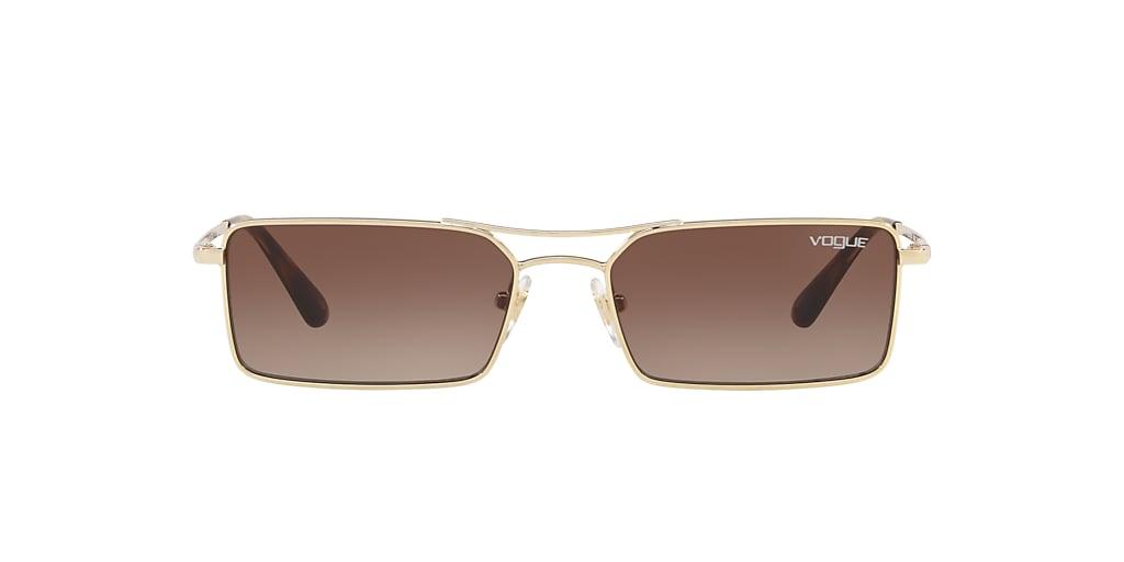 Gold VO4106S Brown Gradient  55