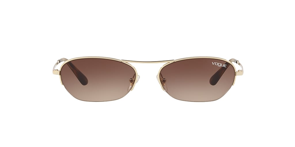 Gold VO4107S Gigi Hadid x Vogue Eyewear Brown  54