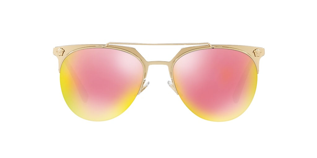 Gold VE2181 Pink/Yellow Mirror  57