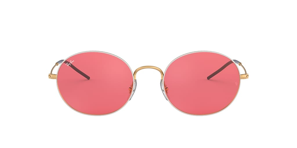 White RB3594 RAY-BAN BEAT Red  53