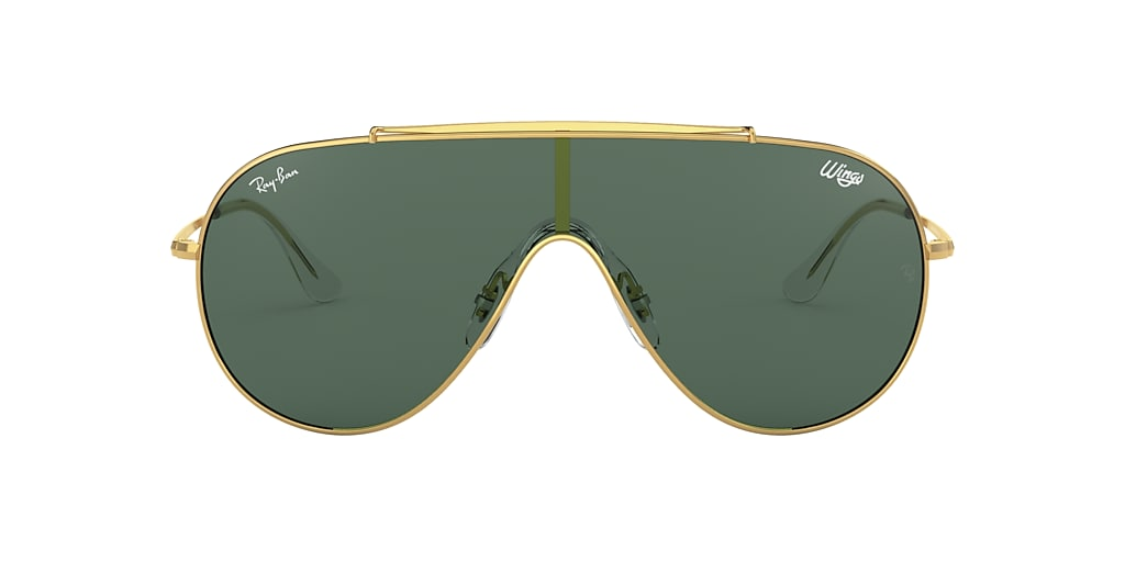 Gold RB3597 WINGS Green  01