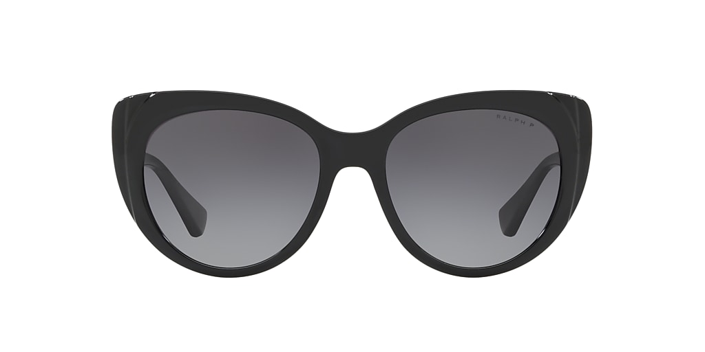 Black RA5243 Polarized Grey Gradient  55