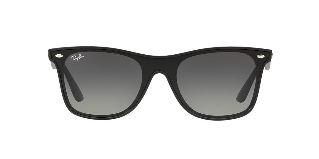 Black RB4440NF BLAZE WAYFARER Grey-Black  01