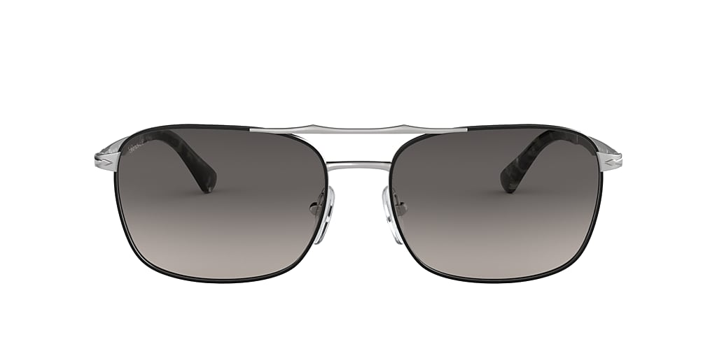 Black PO2454S Polarized Grey Gradient  18