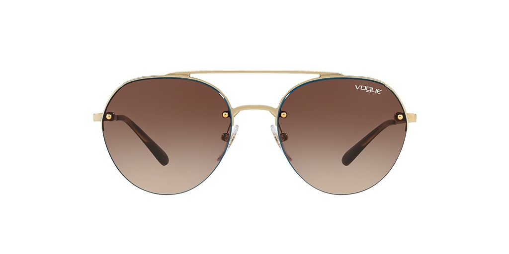Gold VO4113S Brown  54