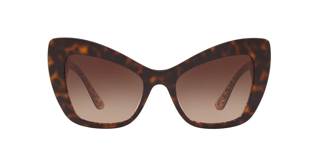 Havane DG4349F Brown Gradient Dark Brown  54