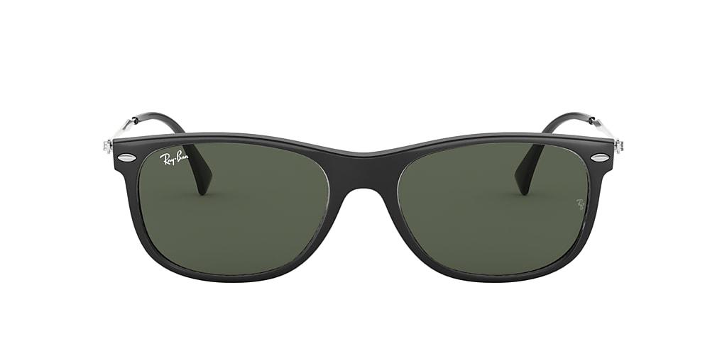 Black RB4318 Green Classic  55
