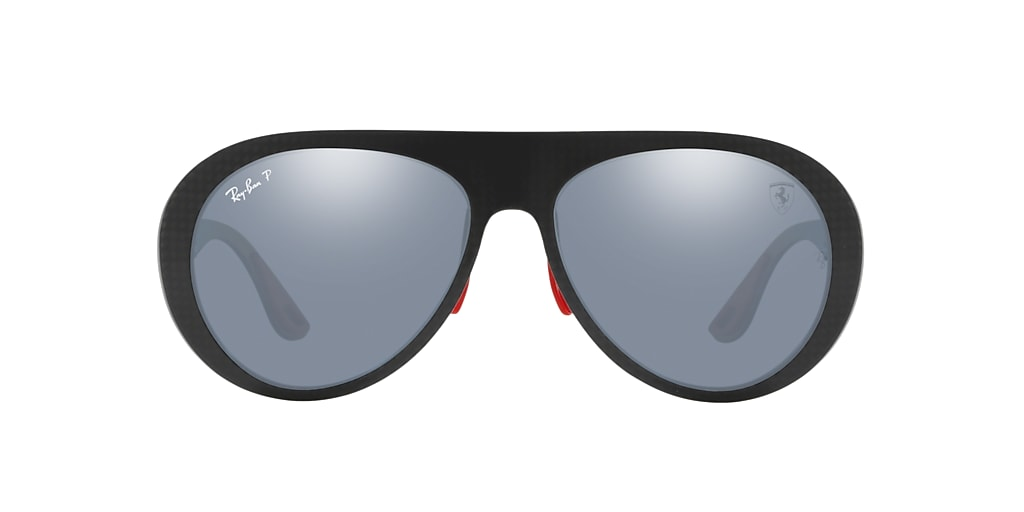 Gunmetal RB8321M SCUDERIA FERRARI ITALY LIMITED EDITION Blue/Silver Mirror Chromance Polarized  58