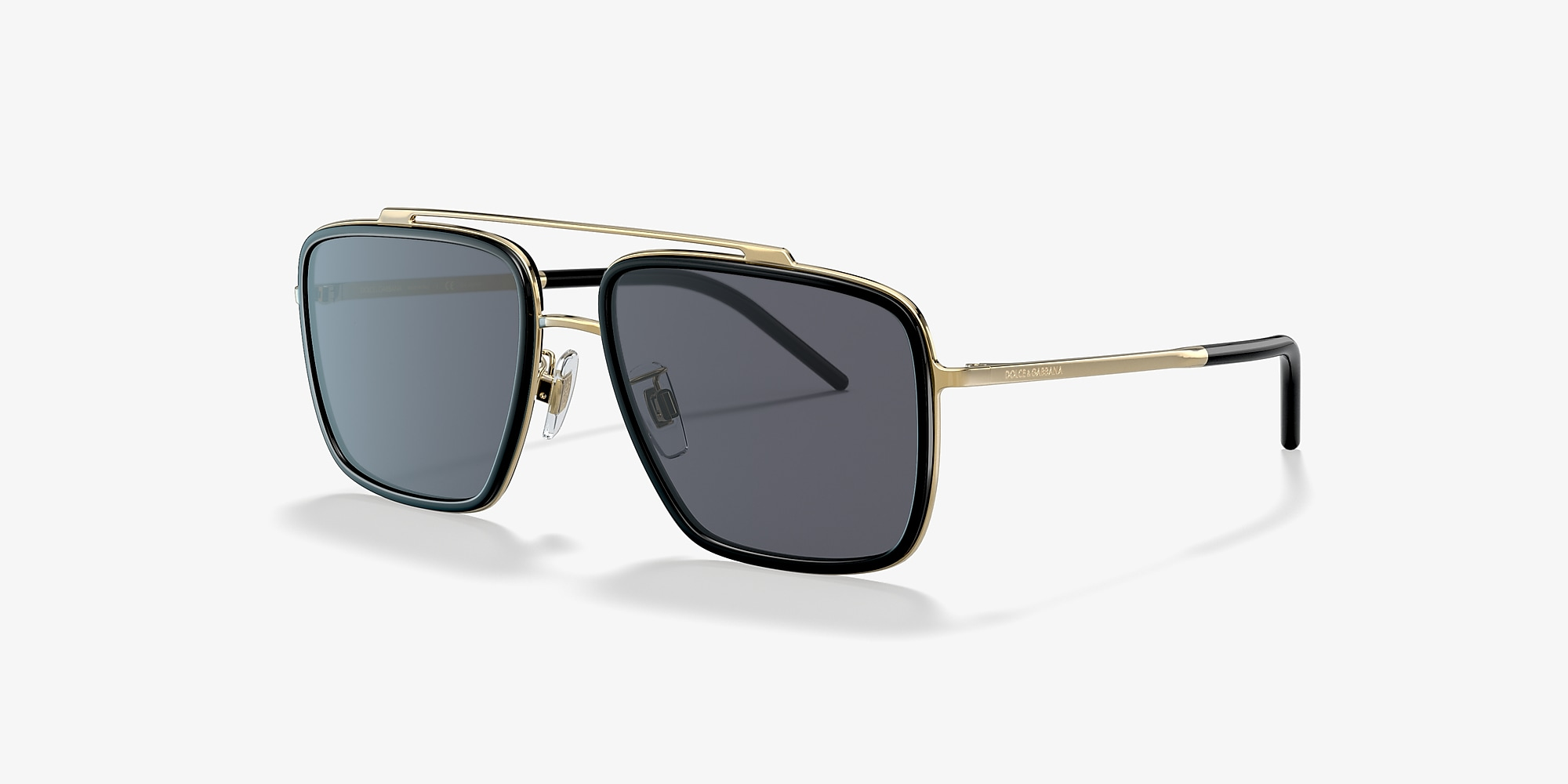 Dolce & Gabbana DG2220 Gold/Grey 					/Polarized image 1
