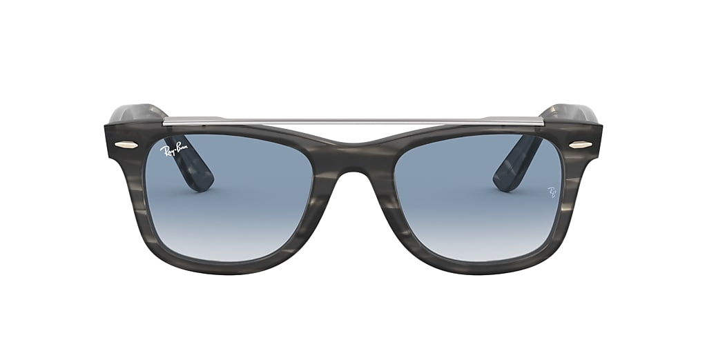 Gris RB4540 WAYFARER DOUBLE BRIDGE Dégradé Bleu  50