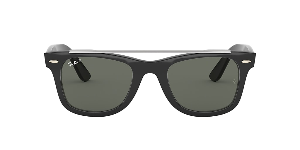 Negro RB4540 WAYFARER DOUBLE BRIDGE Verde  50