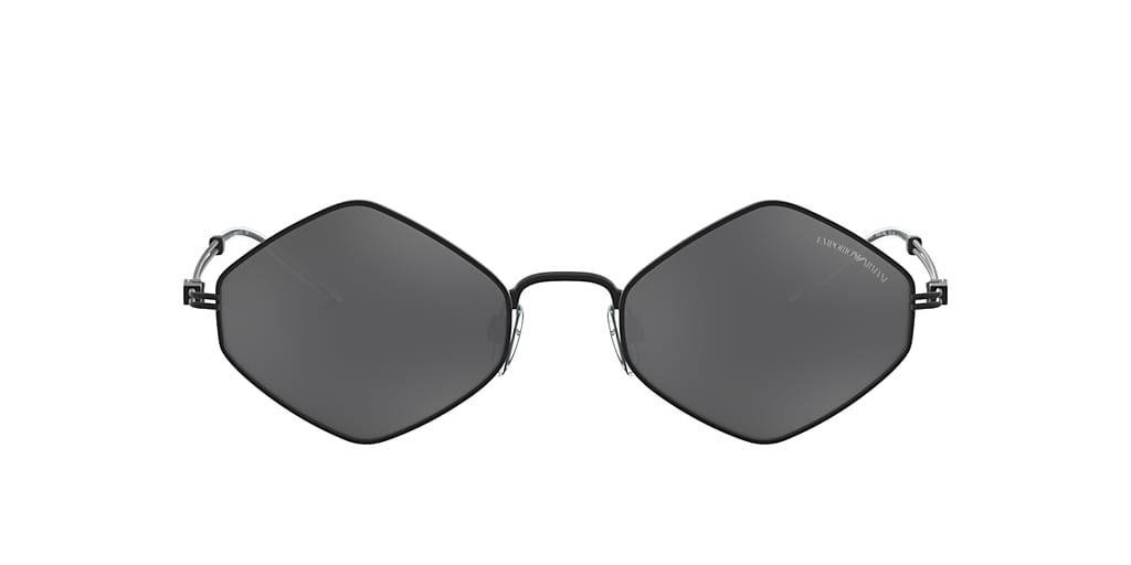Black EA2085 Light Grey Mirror Black  52