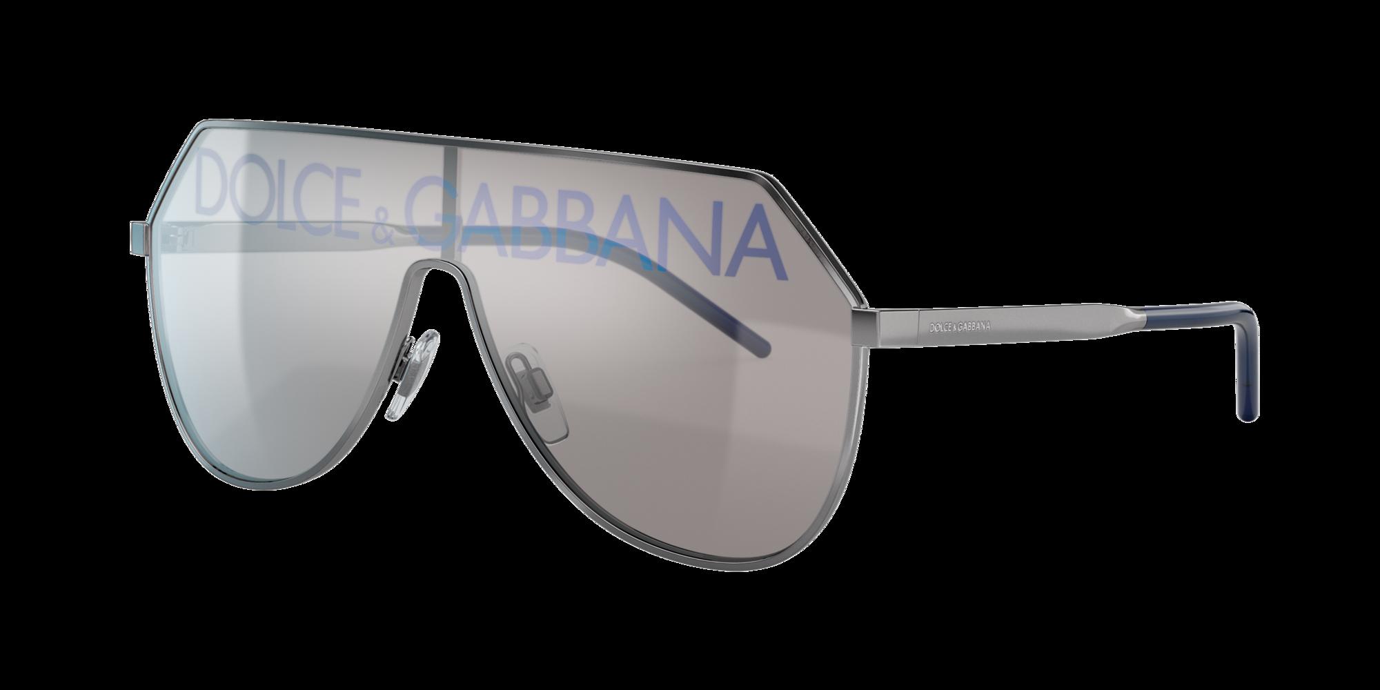 Dolce And Gabbana Man  DG2221 -  Frame color  Gunmetal, Lens color  Silver, Size 01-38 145