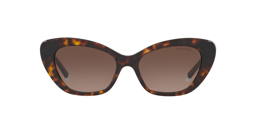 Tortoise TF4158 Tiffany Diamond Point Brown  54