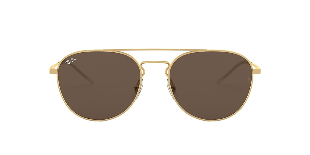 Gold RB3589 Dark Brown Classic  55