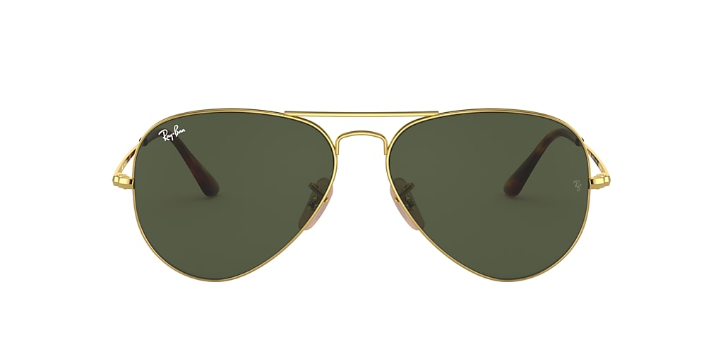 Gold RB3689 Green Classic G-15  55