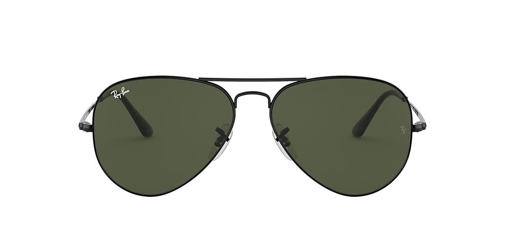 Black RB3689 Green  55