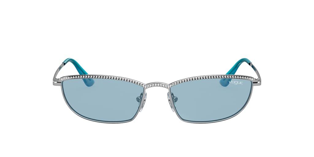 Plata VO4139SB Gigi Hadid x Vogue Eyewear Azul  54
