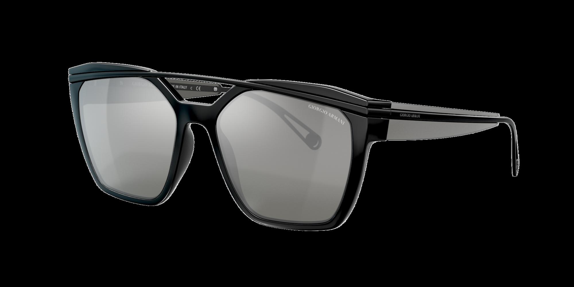 Giorgio Armani Woman  AR8125 -  Frame color  Black, Grey-Black Lens Sunglasses