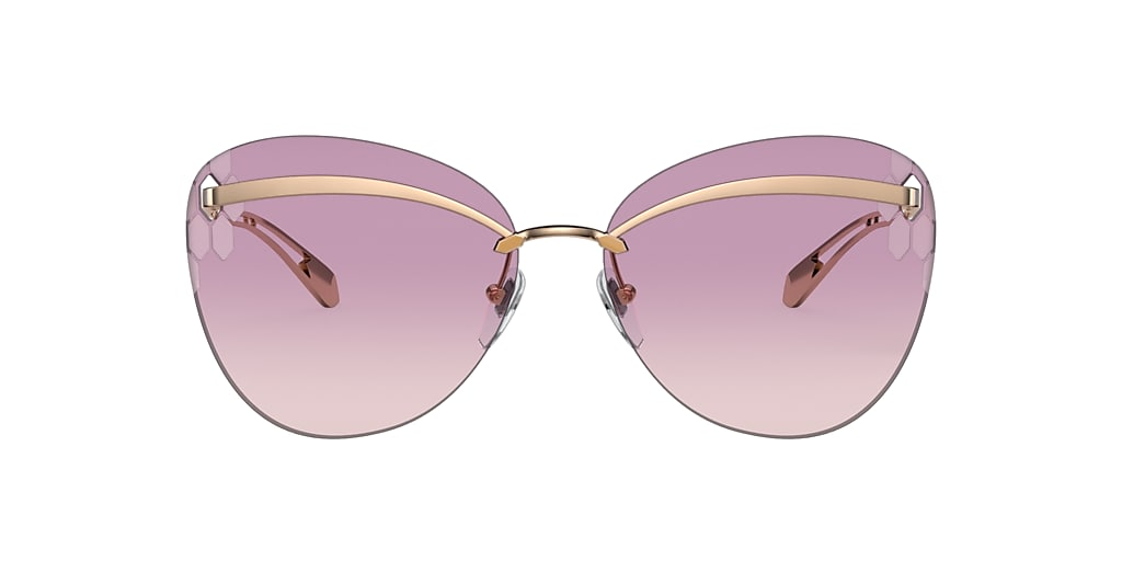 Pink Gold BV6130 Serpenti Brown Gradient Dark Violet