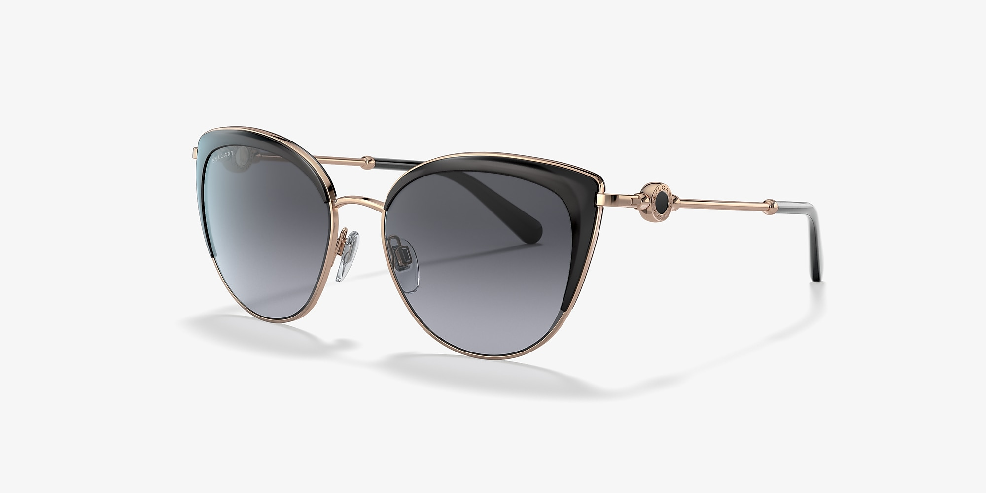 Bvlgari BV6133 Bvlgari Gold/Grey 					/Polarized image 1