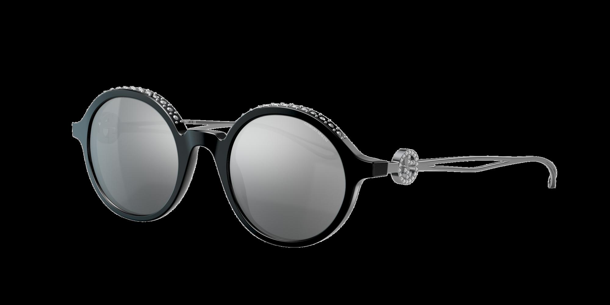 Giorgio Armani Woman  AR8127B -  Frame color  Black, Lens color  Grey-Black