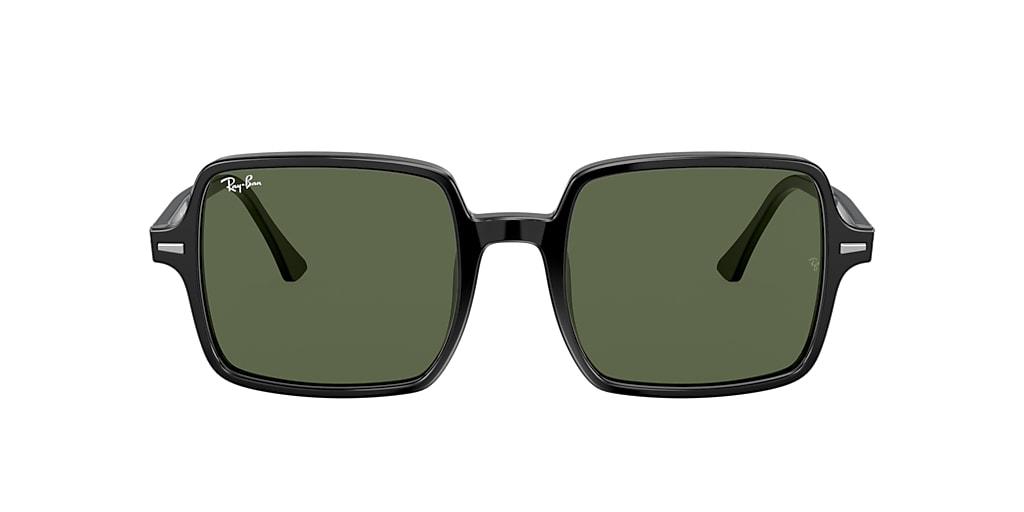 Black RB1973 SQUARE II Green  53