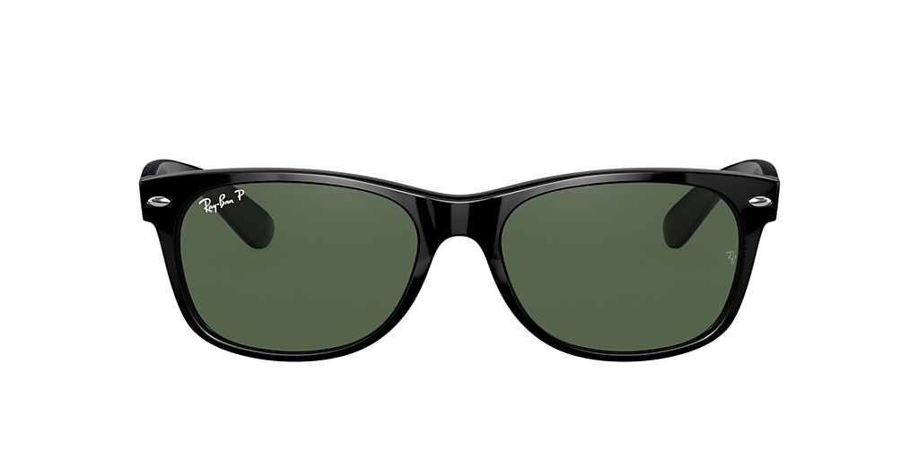 Black RB2132 NEW WAYFARER MICKEY J19 Green  55