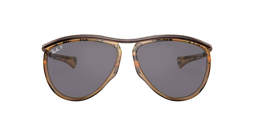Tortoise RB2219 AVIATOR OLYMPIAN Grey-Black  59