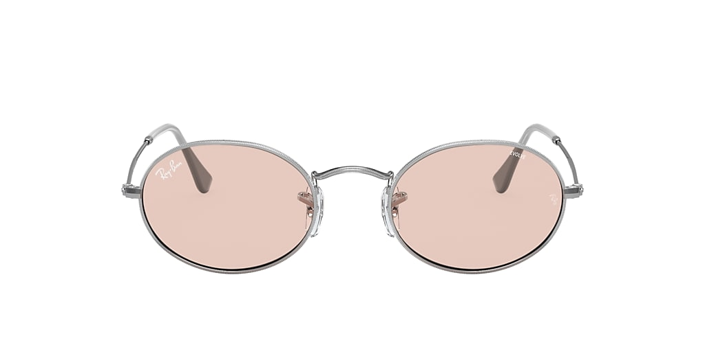 Silver RB3547 OVAL SOLID EVOLVE Pink  51