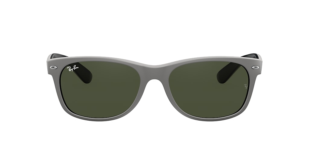 Gris RB2132 NEW WAYFARER COLOR MIX Vert  55