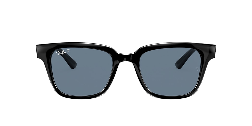 Black RB4323 Polarized Blue Classic  51