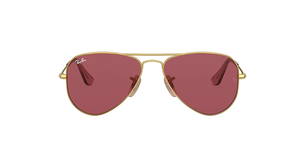 Gold RJ9506S AVIATOR JUNIOR Violett  50