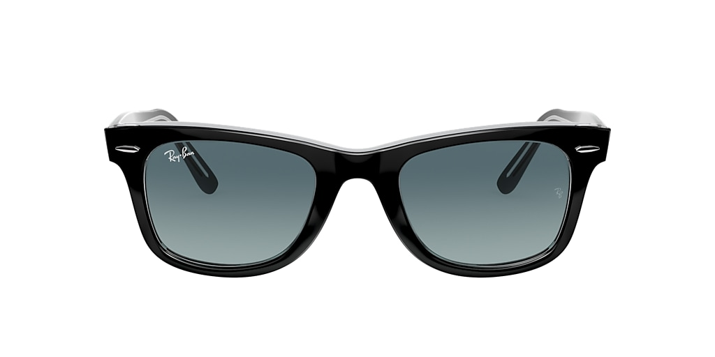 Black RB2140 ORIGINAL WAYFARER BICOLOR Blue Gradient  50