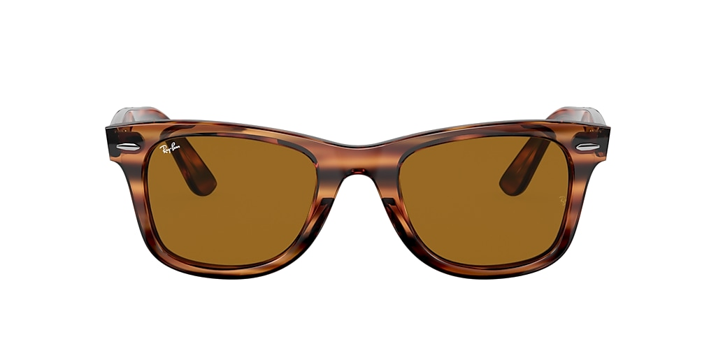 Havane RB4340 WAYFARER EASE Dégradé marron  50