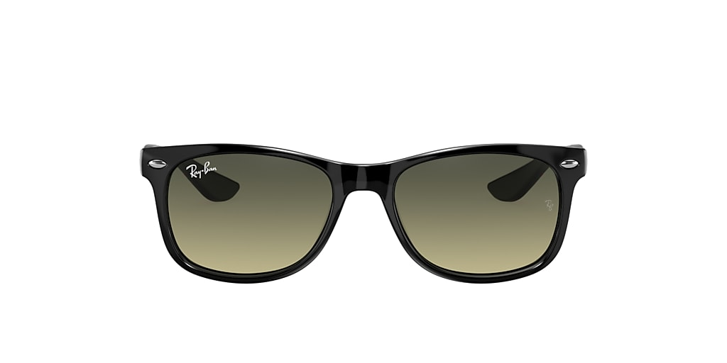 Black RJ9052S Junior New Wayfarer Fab 5 N19 Green  47