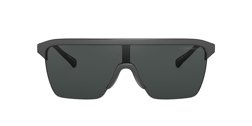 Matte Black EA4146 Grey-Black