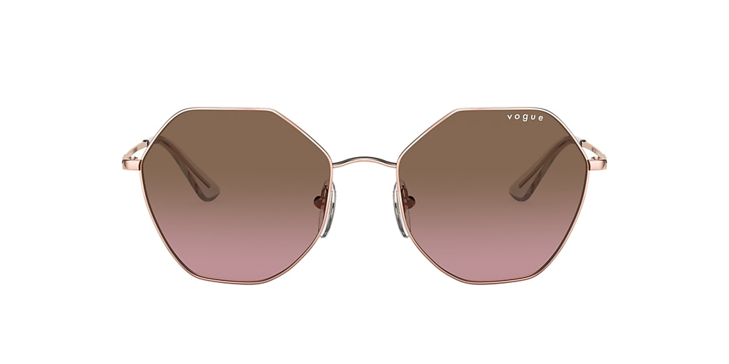 Rose Gold VO4180S Brown/Pink Gradient