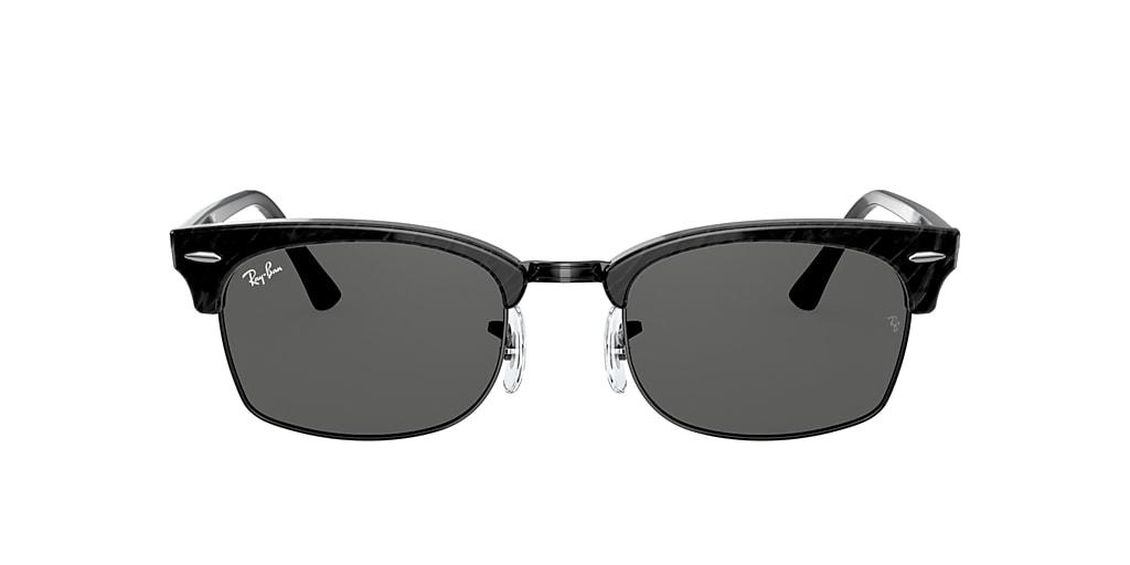 Black RB3916 CLUBMASTER SQUARE Grey-Black  52