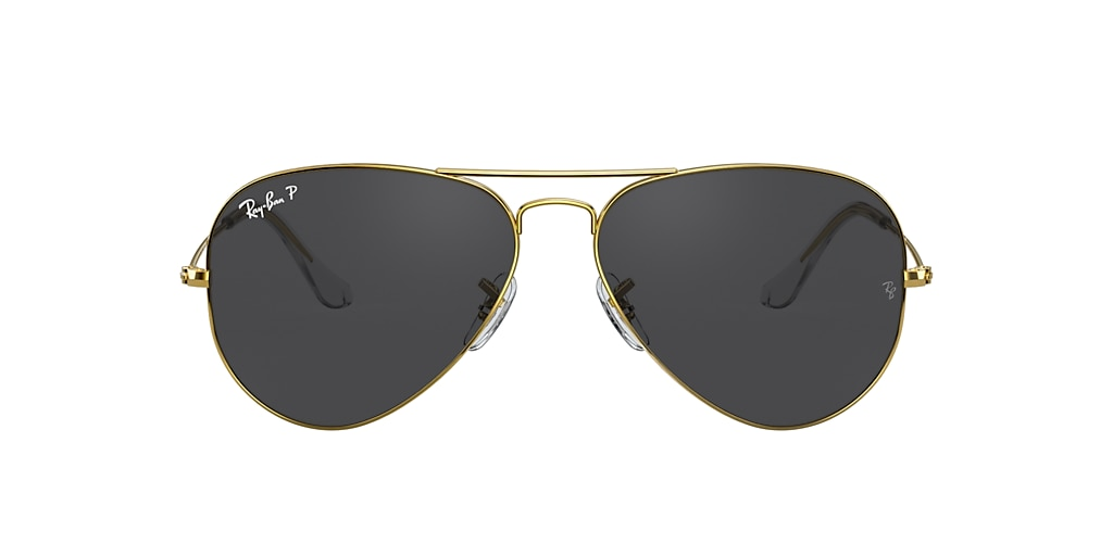 Gold RB3025 AVIATOR CLASSIC Black  62