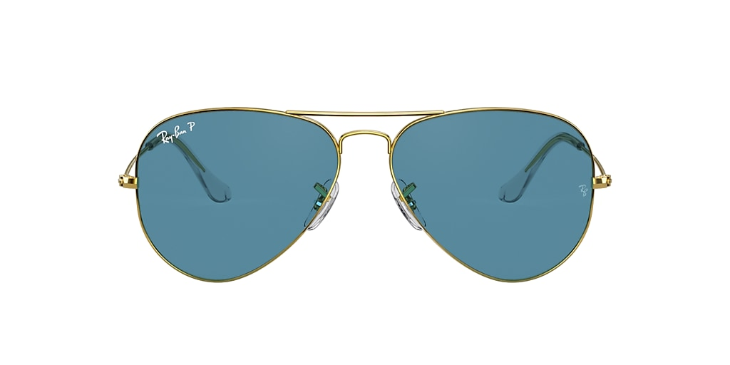 Gold RB3025 AVIATOR CLASSIC Blue  58