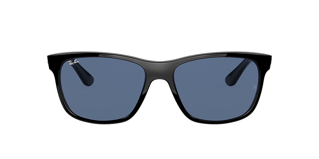 Shiny Black RB4181 Blue  57