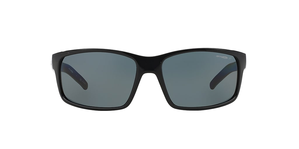 Black AN4202 Polarized Grey Gradient  62