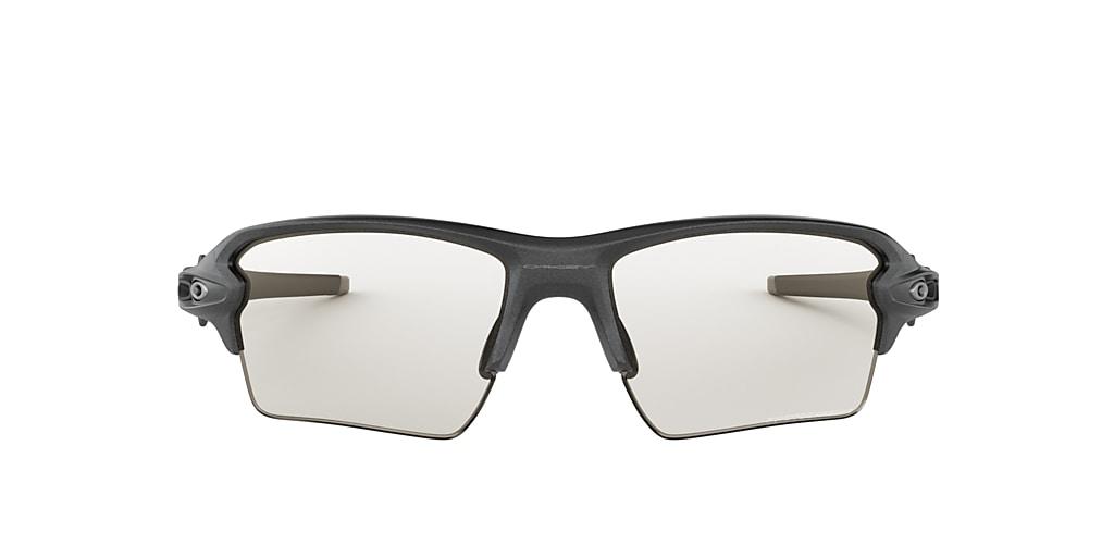 Grey OO9188 Flak® 2.0 XL Clear to Black Iridium Photochromic  59