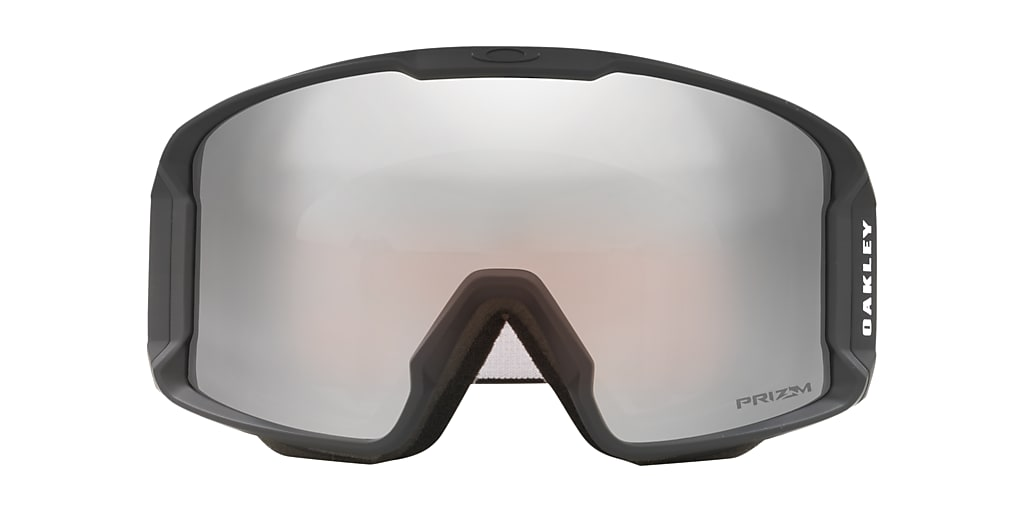 Negro mate OO7070 Line Miner™ Snow Goggle Rojo  00